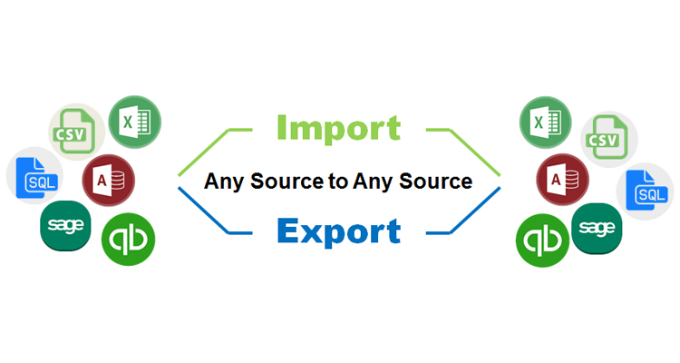 Accounting Data Import Export